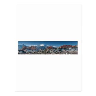神のパノラマの庭 ポストカード