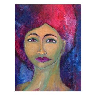 神のフェミニンなLola ポストカード