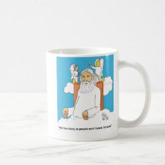 神のヘアカット コーヒーマグカップ