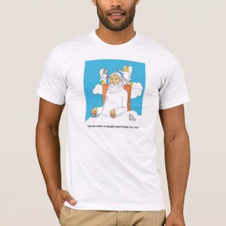 神のヘアカット Tシャツ