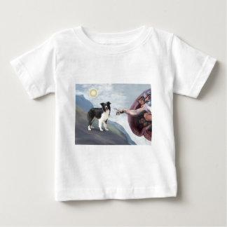 神のボーダーコリー(z) ベビーTシャツ