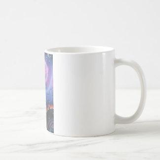 神の介在 コーヒーマグカップ