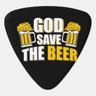 神の保存ビール ギターピック