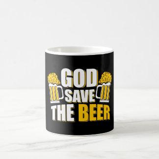 神の保存ビール コーヒーマグカップ