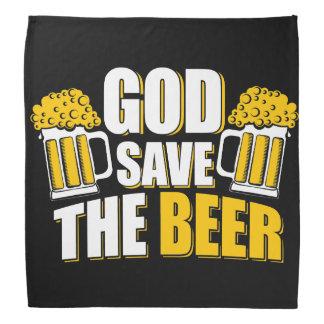 神の保存ビール バンダナ