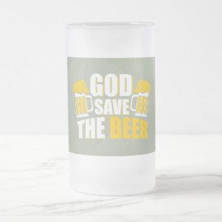 神の保存ビール フロストグラスビールジョッキ