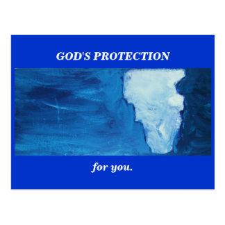 神の保護(アイザイア41) ポストカード