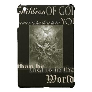 神の光沢のあるiPad Miniケースの子供 iPad Miniケース