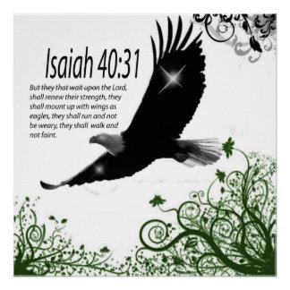 神の単語-ポスターアイザイアの40:31 ポスター