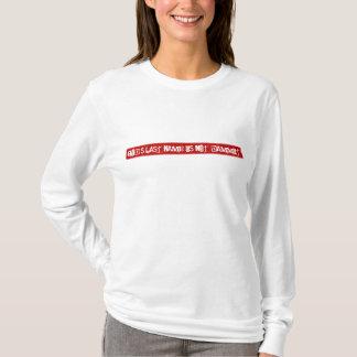 神の名字はDammitありません! Tシャツ