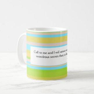 神の呼出し コーヒーマグカップ
