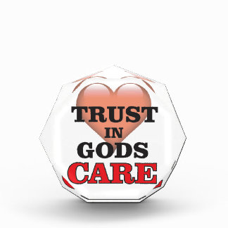 神の心配のハートの信頼 表彰盾