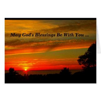 神の恵みはあなたと最初聖餐カードです カード