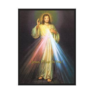 神の慈悲 キャンバスプリント