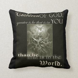 神の枕の子供 クッション