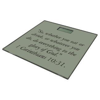 """""""神の栄光""""のやる気を起こさせるな体重計 体重計"""