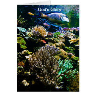 神の栄光 グリーティングカード