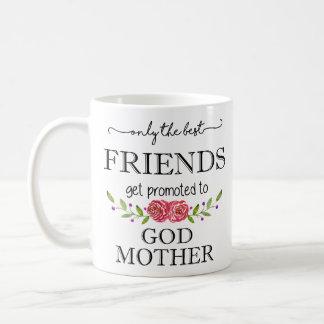 神の母に促進される親友 コーヒーマグカップ