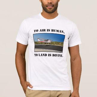 神の着陸 Tシャツ