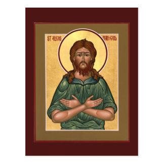 神の祈りの言葉カードのSt.アレキシスの人 ポストカード