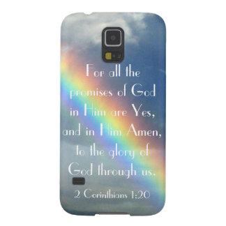 神の約束の聖書の詩のSamsungの銀河系S5カバー Galaxy S5 ケース