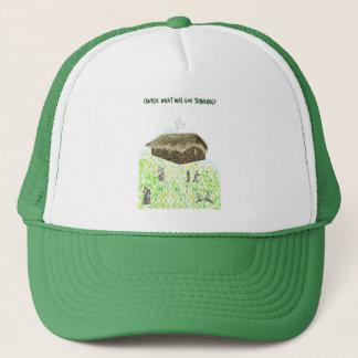 神の考えるな帽子はだった何教会 キャップ