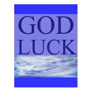 神の運 ポストカード