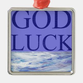 神の運 メタルオーナメント
