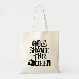 神の髭そり女王 トートバッグ