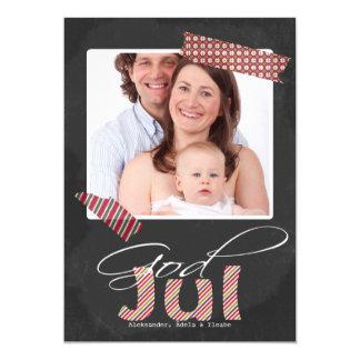 神の7月の写真フレームおよび模造のなテープ カード