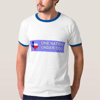 神のTシャツの下のテキサス州 Tシャツ