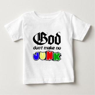 神はがらくたを作りません ベビーTシャツ