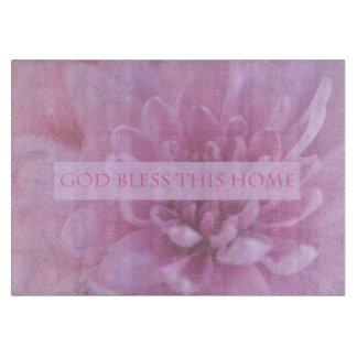 神はこの家のピンクのまな板を賛美します カッティングボード