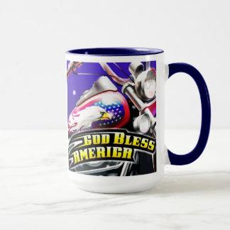 神はアメリカのマグを賛美します マグカップ