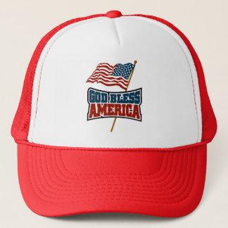 神はアメリカを賛美します キャップ