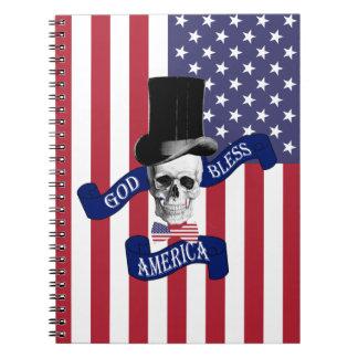 神はアメリカを賛美します ノートブック