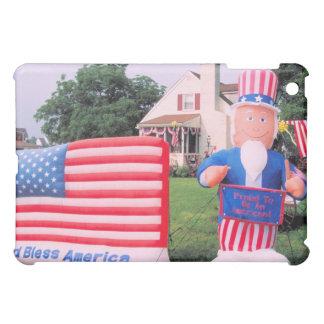 神はアメリカを賛美します iPad MINIケース