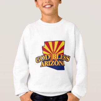 神はアリゾナを賛美します スウェットシャツ