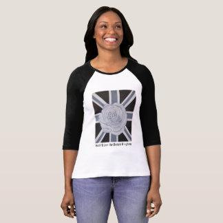 神はイギリスTシャツを賛美します Tシャツ