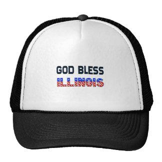 神はイリノイを賛美します 帽子