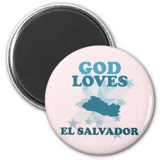 神はエルサルバドルを愛します マグネット