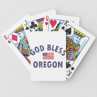 神はオレゴンを賛美します バイスクルトランプ