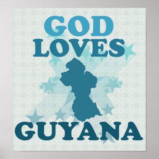 神はガイアナを愛します ポスター