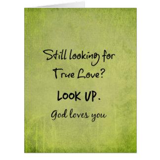神はキリスト教の引用文愛します カード