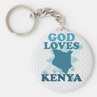 神はケニヤを愛します キーホルダー