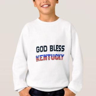 神はケンタッキーを賛美します スウェットシャツ