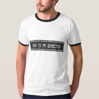 神はディレクターワイシャツです Tシャツ