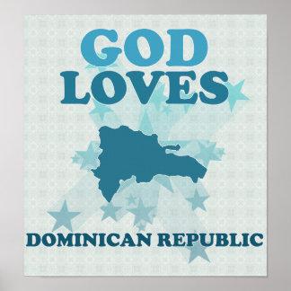 神はドミニカ共和国を愛します ポスター