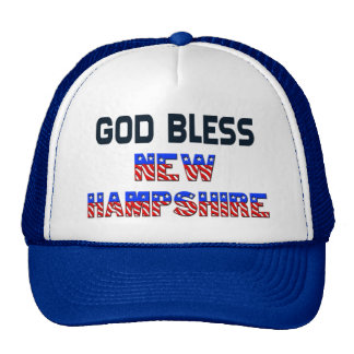 神はニューハンプシャーを賛美します ハット