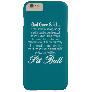 神はピット・ブル作成しました BARELY THERE iPhone 6 PLUS ケース